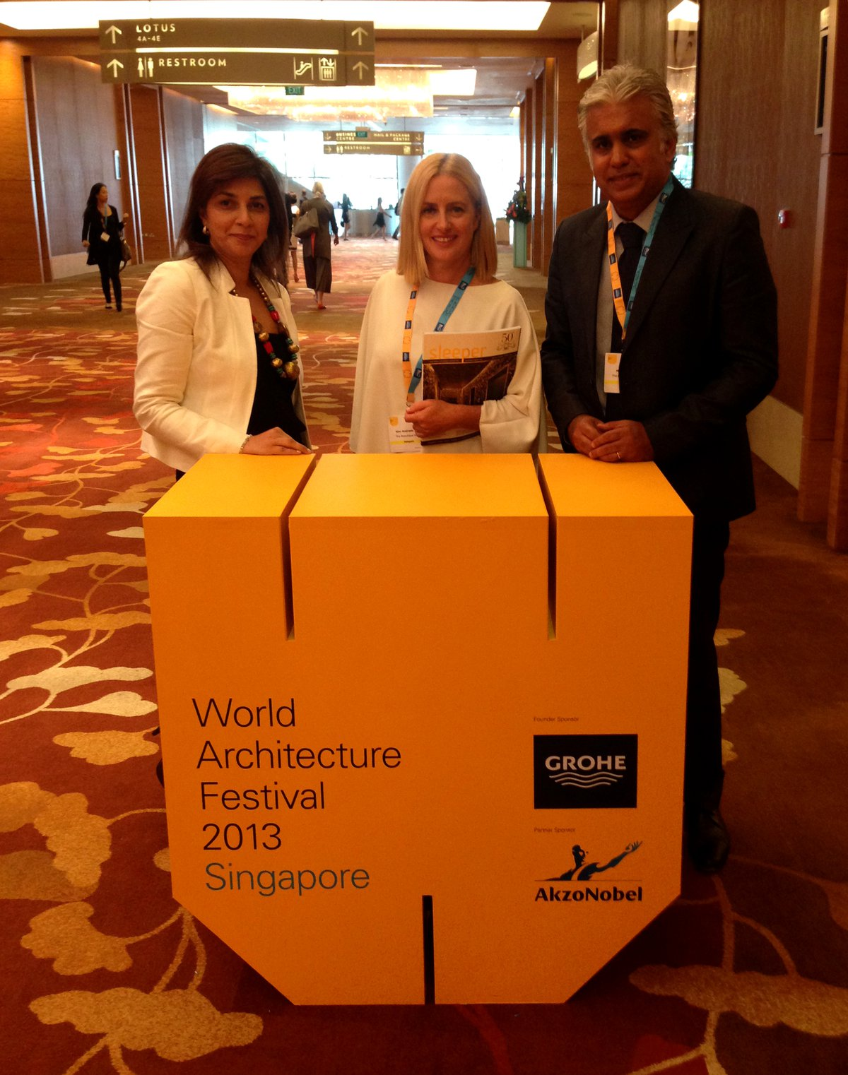 2013 World Architecture Festival Singapore